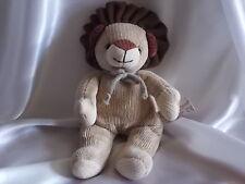 Doudou lion beige en tricot , Anna Club Plush