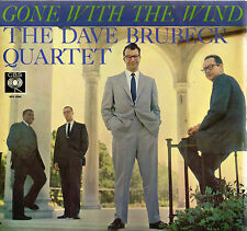 "THE DAVE BRUBECK QUARTET Gone With The Wind 12"" LP Orange Labels CBS UK BPG62065"