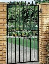 "STRONG SECURITY GATE SAXON SINGLE/GATES 29"" x 6' TALL MADE TO MEASURE BESPOKE"