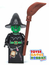 *NEW* LEGO Witch Minifigure Monster Fighters Halloween Minifig Broom Hat Minifig