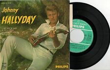 """45 TOURS 7"""" JOHNNY HALLYDAY DOUCE VIOLENCE  N'o 432.592 BE  + LANGUETTE PHILIPS"""