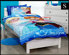 SINGLE BED DISNEY FROZEN BEAUTIFUL GIRLS GIFT QUILT DOONA COVER SET & PILLOWCASE