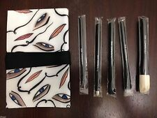 New in Box MAC Cosmetics Brush Kit by Rebecca Moses x 5