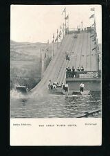 Exhibition Italian EARLS COURT 1904 The Great Canadian Water Chute PPC