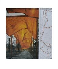 Christo The Gates, Project for Central Park Poster Bild Kunstdruck 58,5x48,4cm