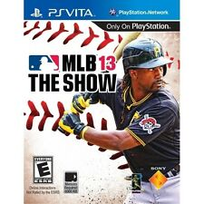 MLB 13 The Show Game 2013 PS Vita Sony PlayStation PS Vita Brand New