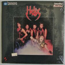 """HELIX Canadian Rock Metal Band  Music Video RaRe NEW 8"""" inch  LaserDisc Edition"""