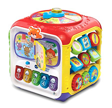 New VTech Sort & Discover Activity Cube Baby Toddler Development Educational Toy
