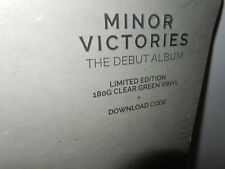 Minor Victories, Ltd Ed Clear Green Colored Vinyl LP, MOGWAI, SLOWDIVE Shoegaze