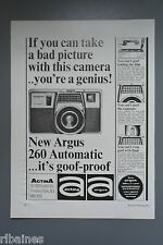 R&L Ex-Mag Advert: Argus 260 Automatic Camera
