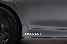 2x Skirt Side Stickers fits Honda Civic Accord Car Decal Bodywork Sticker VK20