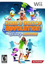 Dance Dance Revolution Disney Grooves DDR - Nintendo Wii Game