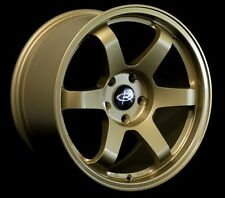 GOLD 17X9 +42 ROTA GRID 5X100 WHEEL FIT SUBARU IMPREZA WRX WAGON BRZ AGGRESSIVE