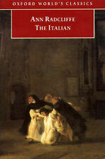 The Italian by Ann Radcliffe (Paperback, 1998) Gothic Literature Halloween