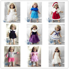 """lot nine suits of clothes dress outfit for 18""""American Girl Doll 5"""