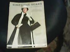 VINTAGE SIMPSON SEARS FALL & WINTER CATALOG 1957