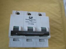 FEDERAL ELECTRIC HDA D16 16 AMP TRIPLE POLE MCB CIRCUIT BREAKER.HDA3P16