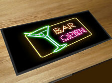 Cocktail Bar open Bar runner counter mat Pubs Clubs & Cocktails Bars Home Bars