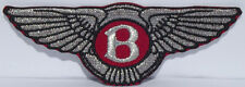 Bently embroidered cloth patch.     H021102