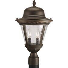 POST LAMP P5434-20STR Progress Lighting Outdoor ANTIQUE BRONZE