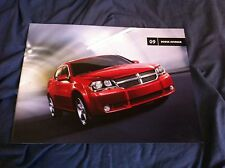 2009 Dodge Avenger Color Brochure Catalog Prospekt