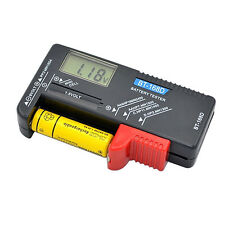 Digital LCD Battery Tester Volt Checker For 9V 1.5V AA AAA Cell BT-168D Easy