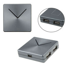 Slim Mini V-Type High Speed 4 Port USB 2.0 Hub For PC Laptop Computer Hot Sell