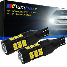 DuraFlux 30W 921 912 T10 T15 Black Alluminum LED Backup Reverse Light Bulb 54SMD