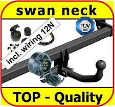 Towbar & Electric 12N Ford Mondeo Hatchback III 2000 to 2007 / swan neck Tow Bar