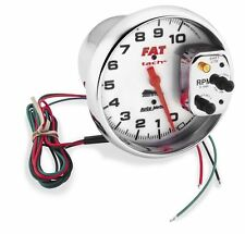 Auto Meter 10000 RPM 5in. E.L. Tachometer with White Face  19265*