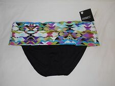 Kenneth Cole New Womens Tummy Toner Hipster Medium Bikini Bottom Bathing Suit