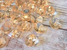 6 mm Wedding scatter table crystals table Decoration Gold Diamond Confetti