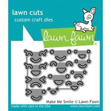 Lawn Fawn Lawn Cuts Custom Craft Die Make Me Smile Faces