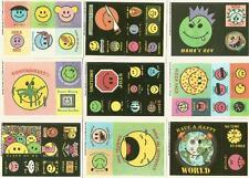 Stupide sourires autocollant cartes complet carte 44 autocollant set de topps 1989