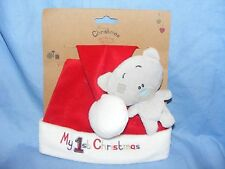 Me To You Tatty Teddy Blue Nose Bear My First Christmas G92Q0166 Gift Present