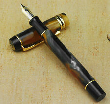 Kaigelu 316 Century Classics Tiger Eye Color Celluloid Pen M Nib Fountain Pen K9