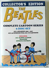 The BEATLES Complete 1960's Cartoons TV Series 6 Disc DVD Set
