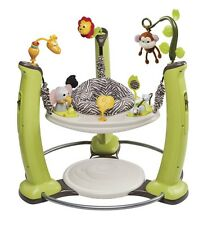 Evenflo ExerSaucer Jumper Jump Learn Jungle Quest Baby Development New
