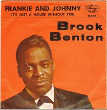 "BROOK BENTON ""FRANKIE AND JOHNNY"" POP SOUL SP 1961 MERCURY 71859"