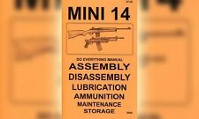 Ruger Mini 14 Mini-14 Do Everything Gun Manual Book Guide