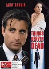 THINGS TO DO IN DENVER WHEN YOU'RE DEAD DVD Andy Garcia VIOLENCE (NEW/SEALED) R4
