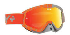 SPY WHIP MOTOCROSS MX GOGGLES GREY & ORANGE MIRROR LENS  SX SXF KTM 100% NEW