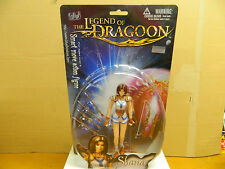 "BLUE BOX The Legend Of The Dragoon SHANA # 34257 Ch. 2000 7"" Action Figure VHTF*"