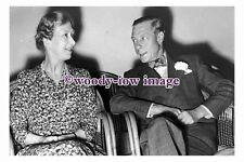 rs0088 - Princess Mary with Edward , Duke of Windsor ( King Edward VIII) - photo