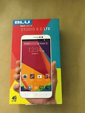 BLU Studio 6.0 LTE with 6-Inch Full HD Display Unlocked Cell Phone - WHITE