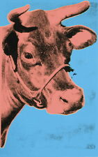 Andy Warhol Cow Giclee Canvas Print Paintings Poster Reproduction Copy