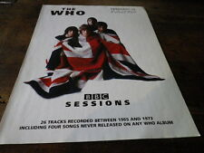 THE WHO - Publicité de magazine / Advert !!! BBC SESSIONS !!! UK !!!