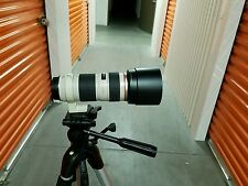 Scammers dont even try me.Canon EF 70-200mm f/4 L IS USM Lens w/tripod adapter.