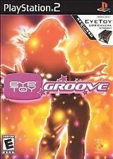 EyeToy: Groove PlayStation 2 Black Label Brand New Factory Sealed