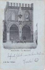 BOLOGNA - La Mercanzia 1908